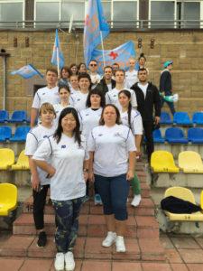 Команда ГКБ № 13 на спартакиаде